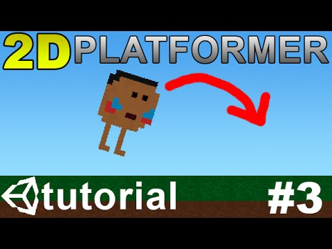 3 Making A 2d Platformer In Unity C Player Jump