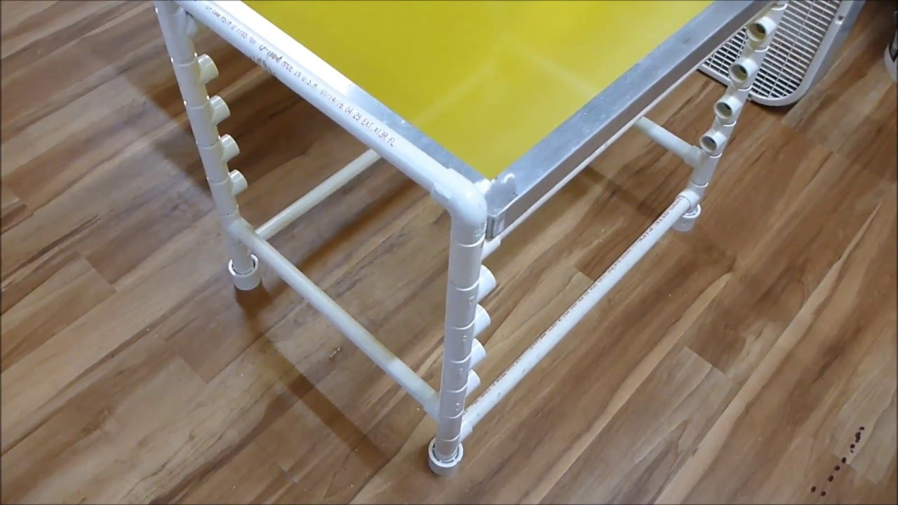 Screen Storage Racks : Diy screen print rack youtube