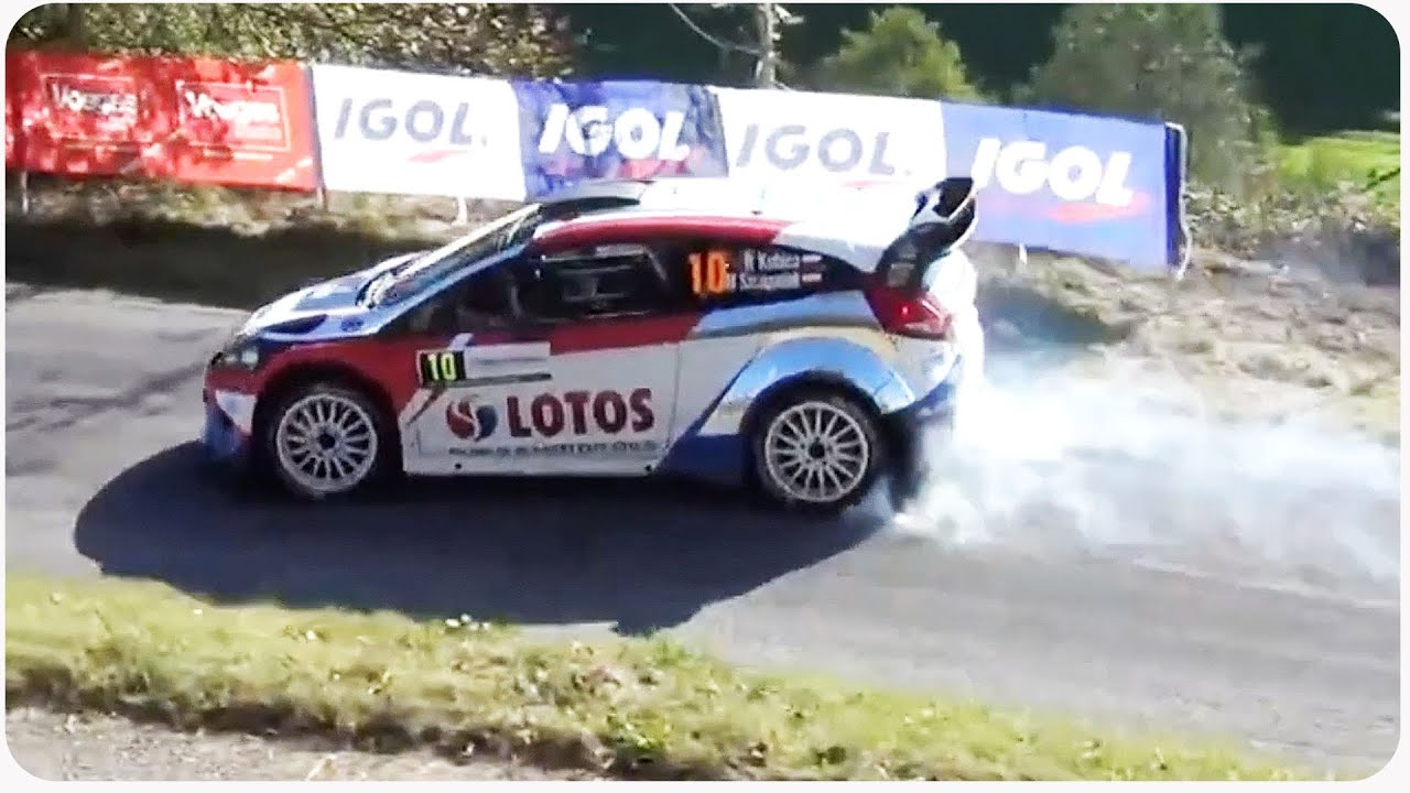 Robert kubica rally car double smash youtube for Kubica cars