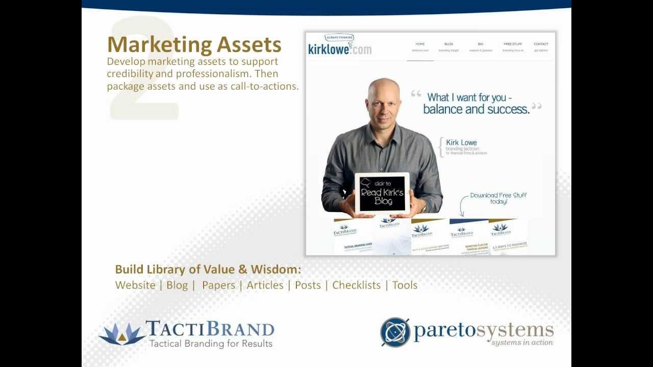 TactiBrand / Pareto System Client Acquisition Webinar for ...