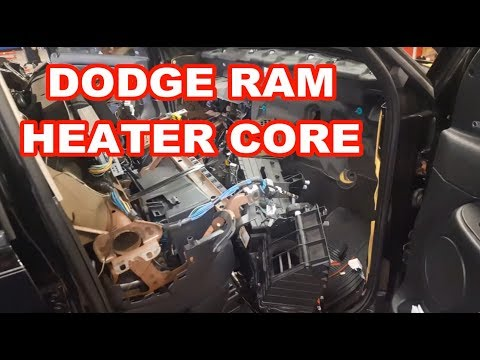 Dodge Ram Heater Core / Evaporator REPLACEMENT 2003-2008 How To Replace / Overview 2500 3500 How To