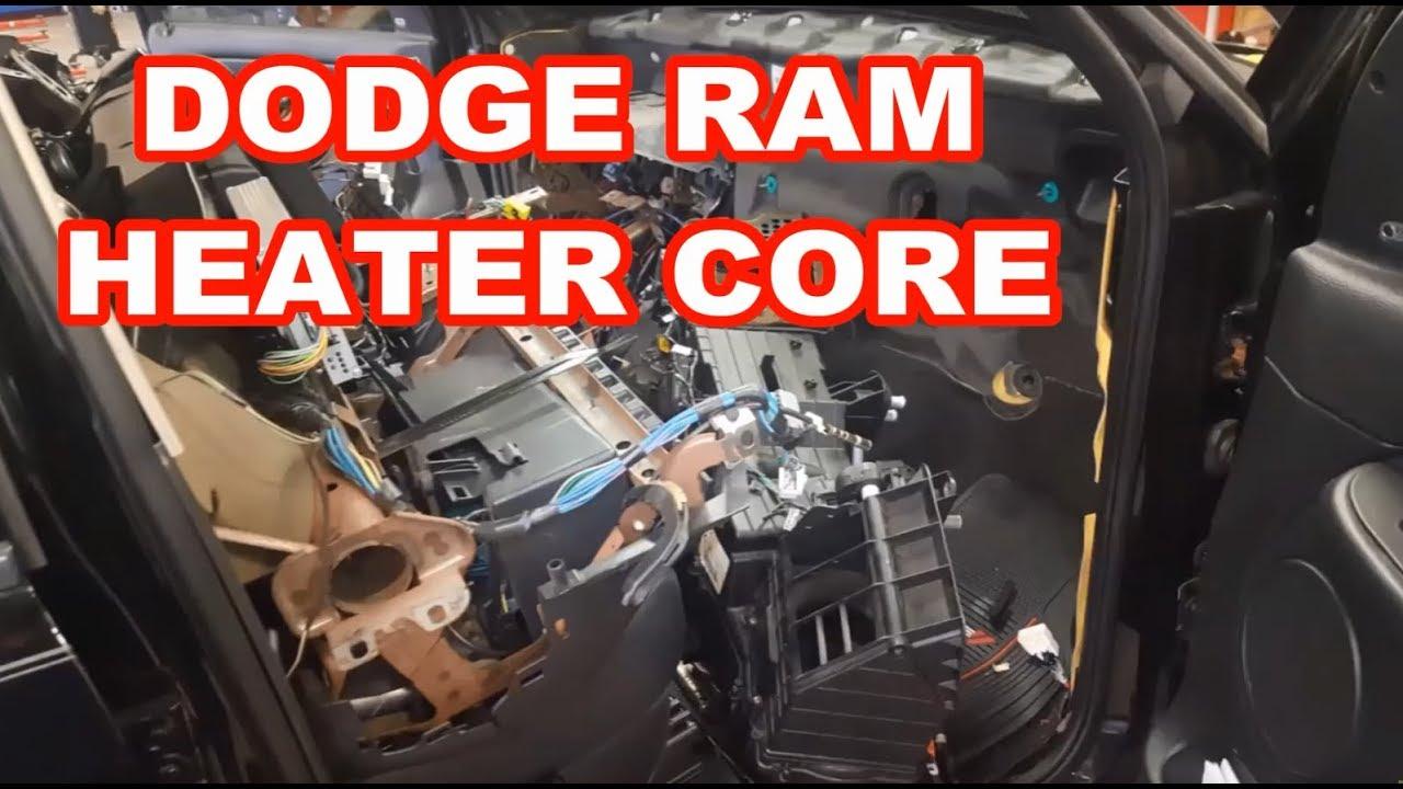 Dodge Ram Heater Core Evaporator Replacement 2003 2005