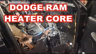 2004 Dodge Ram 1500 HEATER CORE REPLACEMENT 2003-2005? replacing overview how to evaporator