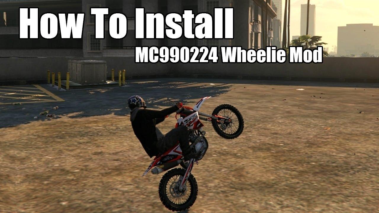How To Install Mc990224 Wheelie Mod Youtube