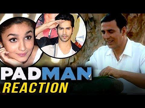 Akshay Kumar Padman Trailer: Bollywood REACTS | Alia Bhatt, Varun Dhawan & More