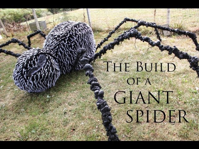 the build of a giant spider 7 steps with pictures