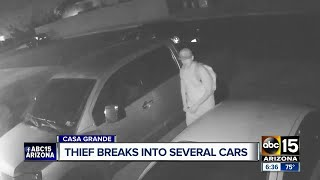 Police searching for serial car thief in Casa Grande