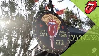 The Rolling Stones In Chile - América Latina Olé Tour