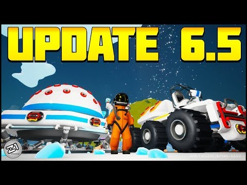 NEW ROVERS and PLATFORMS! NEW Astroneer Update 6.5 | Z1 Gaming