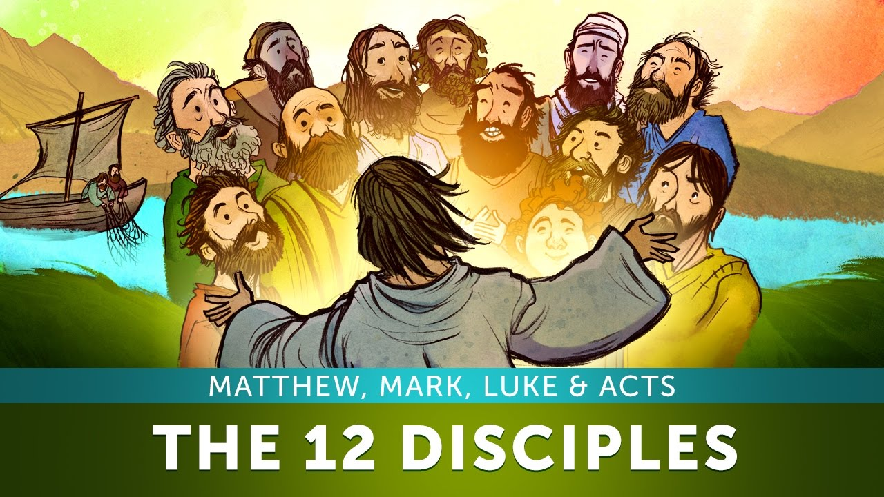 12 Disciples Of Jesus