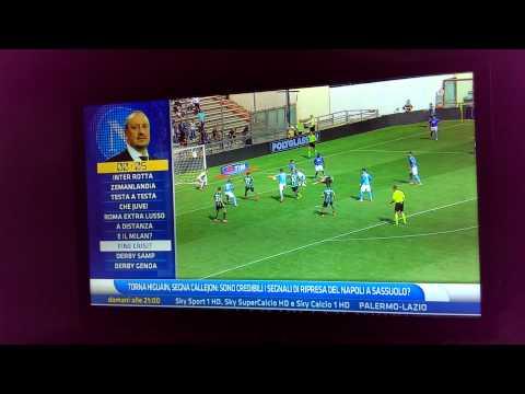 Sassuolo-Napoli 0-1: massimo Mauro dice la verità