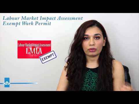 Labour Market Impact Assessment Exempt Work Permits