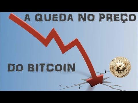 Preço do bitcoin caiu forte. E agora?