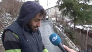Sarıyer'de Yol Vatandaşın Evine Göçtü