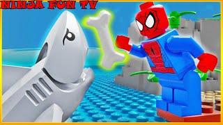 Lego Spider Man - Baby Shark Training