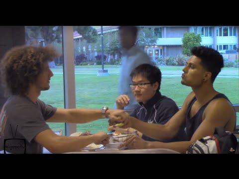 EATING PEOPLES FOOD PRANK! (GONE WRONG)