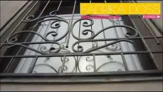 видео Кованые решетки