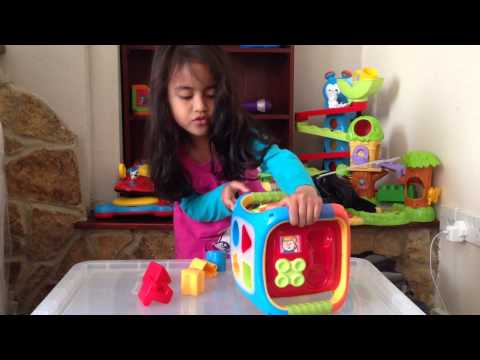 Used Good Quality Toys – Musical Shapes & Numbers Cube
