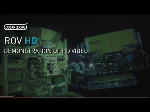 ROV High Definition (HD) Video | Oceaneering