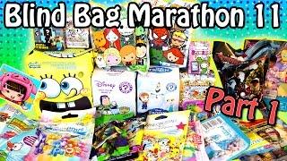 Surprise Blind Bag Marathon 11 - Part1 - Frozen, Avengers, Hello Kitty, Doc McStuffins and MORE!