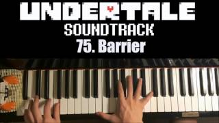 Undertale OST - 75. Barrier  (Piano Cover by Amosdoll)