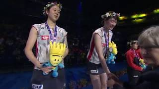 Matsutomo & Nagahara winning WD thriller to claim the World Championship title