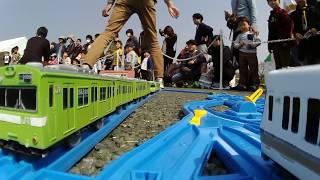 【プラレール(Plarail Camera Car)前面展望】大阪環状線全駅再現in万博鉄道まつり<大阪環状線・内回り(DAY2)編> thumbnail