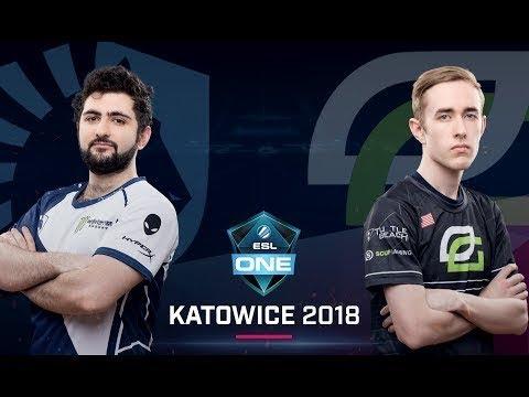 Dota 2 - Team Liquid vs. OpTic Gaming - Partido 1 - Fase de grupos - ESL One Katowice 2018