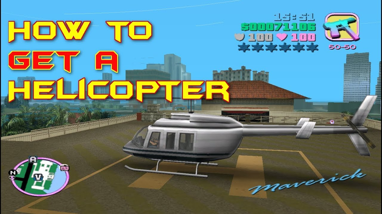 gta vice city helicopter cheat code for laptop