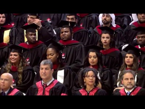 Canadian University Dubai Graduation Ceremony 2016 (Full Version)