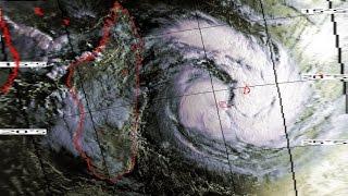 Cyclone CLOTILDA à la Réunion Fev. 1987