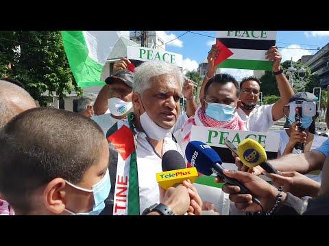 «Les bombardements d'Israël visant les Palestiniens»  condamnés à Port-Louis