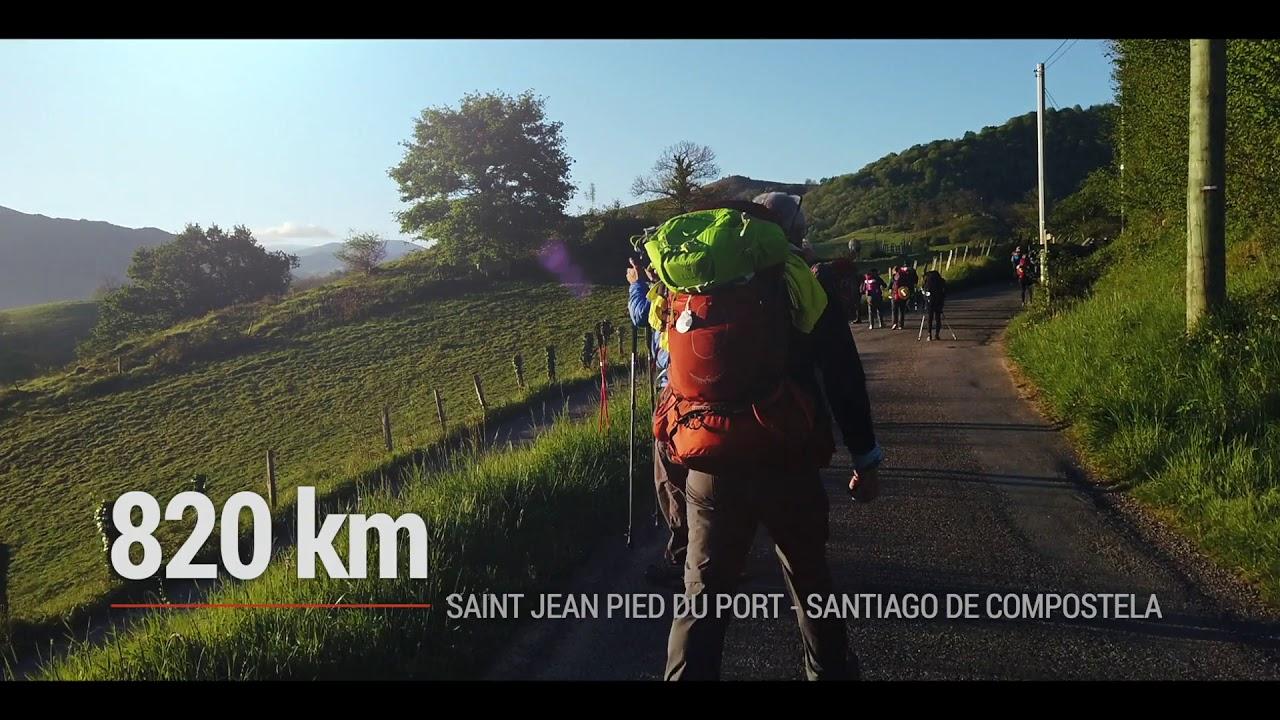 Doi români pe drumul către Santiago