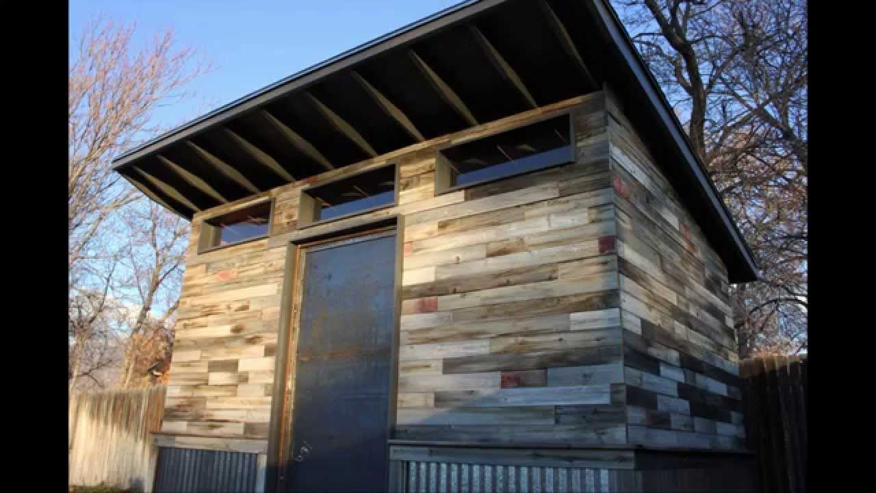Modern Shed DIY Time Lapse YouTube