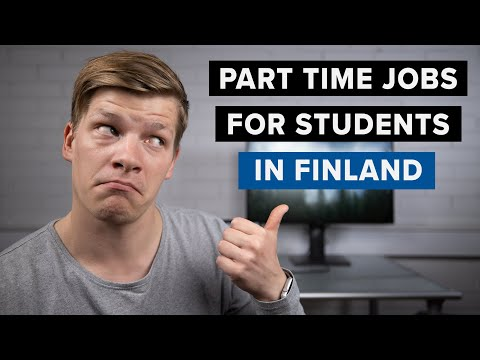 How To Find Part Time Jobs For International Students In Finland  – 15 Tips   Study In Finland