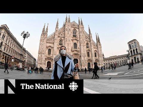 Coronavirus outbreak empties streets in Italy