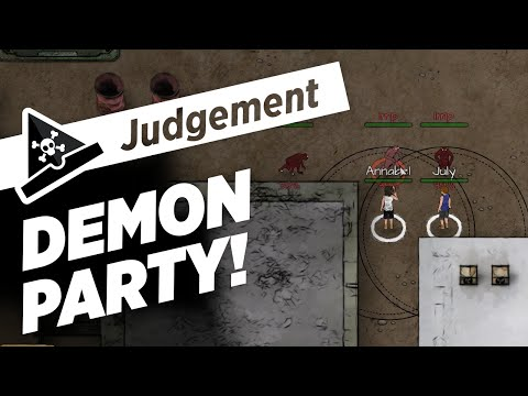 DEMON PARTY - ep 1 - Let's Play Judgement: Apocalypse Survival Simulation Gameplay |