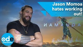 AQUAMAN: Jason Momoa wishes he understood women