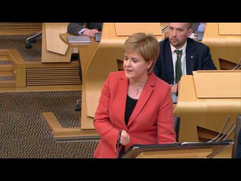 First Minister's Questions - Scottish Parliament: 3rd May 2017