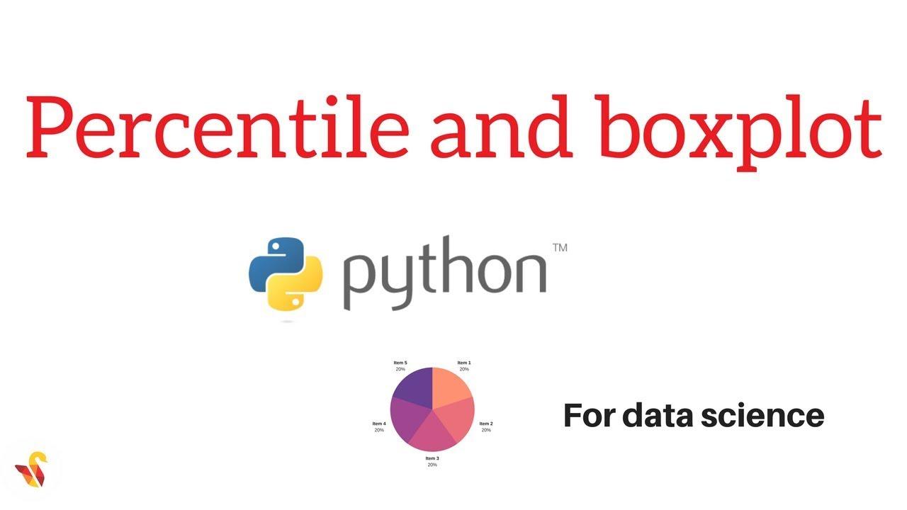 Percentile and Boxplot - Tutorial 3