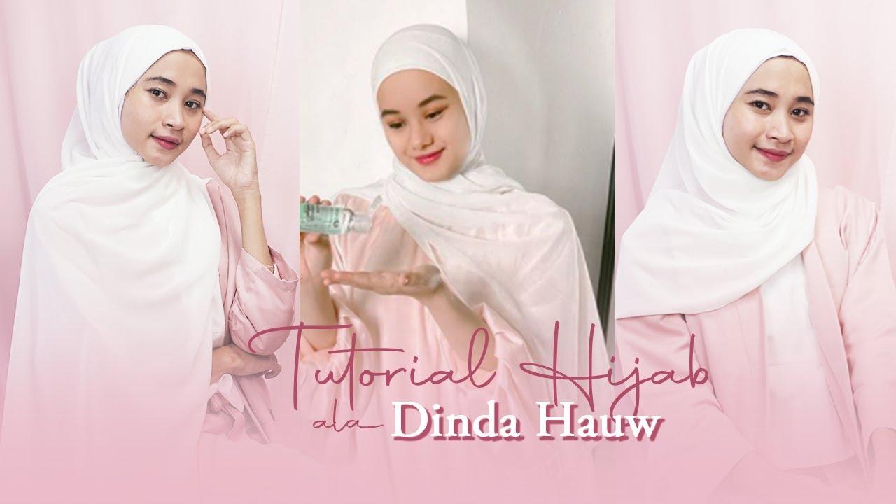 3 Tutorial Hijab Pashmina Dan Segi Empat Simple Ala Dinda Hauw Youtube
