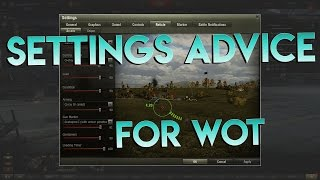 A Unicums Advice for Setting up your Game in WoT