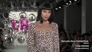 LENA HOSCHEK - MERCEDES-BENZ FASHION WEEK BERLIN AW2017