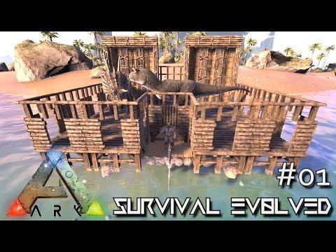 ARK: Survival Evolved - TRIBE WMD BEGINS !!! - SEASON 4 [S4 E01] (CENTER MAP Gameplay)