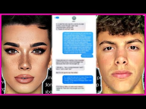 James Charles & Gage Text Messages REVEALED! thumbnail