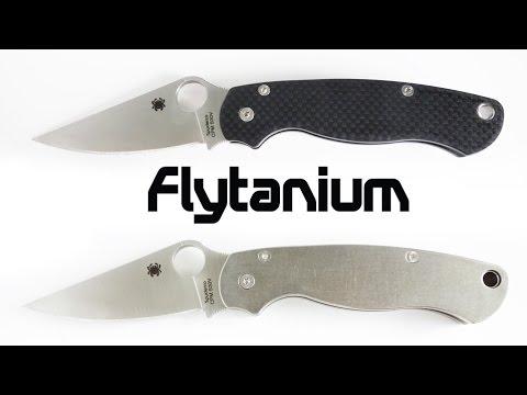Flytanium Paramilitary 2 Titanium and Carbon Fiber Scales Review