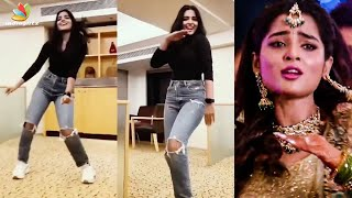 Dance Video : Anagha  Kadhal Mannana Neeyum Kannana   Per Vachaalum Song Video | Dikkiloona