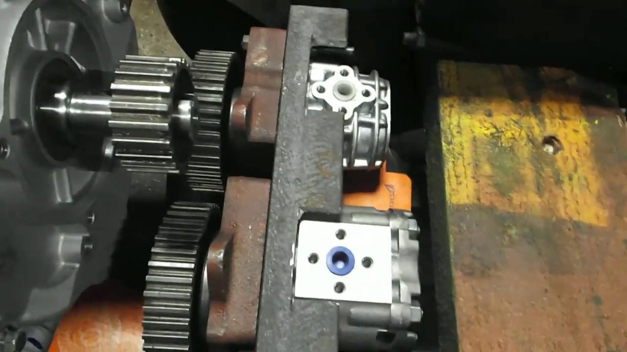 Самодельный трактор.УЗЕЛ ПРИВОДОВ НШ НАСОСОВ для гидрохода на самодельный мини трактор погрузчик