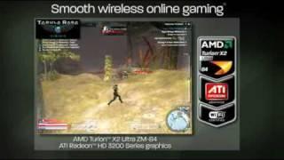 AMD Turion x2 Ultra ZM-84 + RadeonHD 3200 vs Intel Core 2 Duo P8400 + GMA4500MHD Gaming performance.