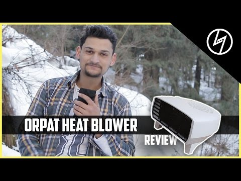 Orpat OEH-1220 2000-Watt Fan Heater - Unboxing & Review | CREATORSHED